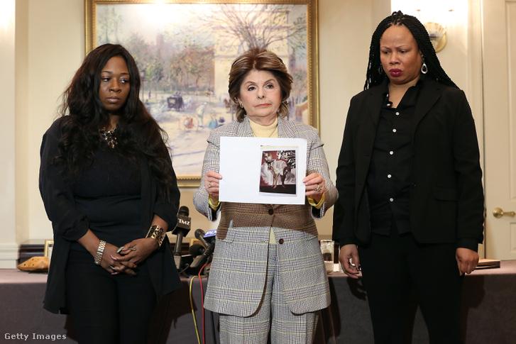 Rochelle Washington, Gloria Allred ügyvédnő és Latresa Scaff