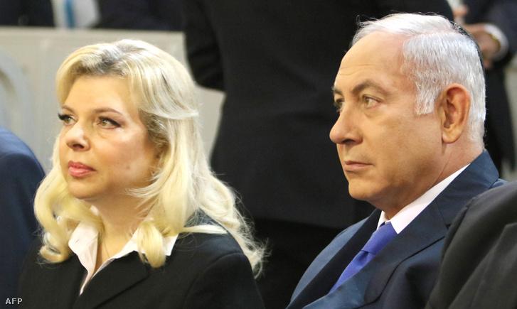Sara és Benjámin Netanjahu