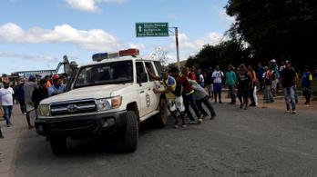 Határlezárást ellenző civileket lőtt le a venezuelai hadsereg