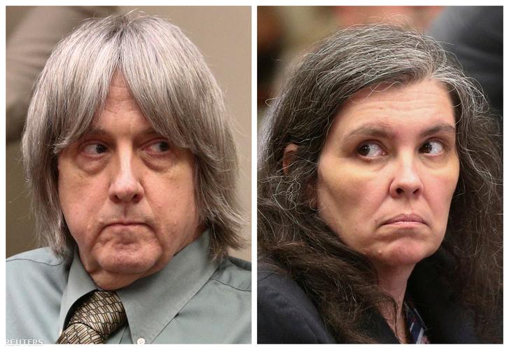 David Allen Turpin és Louise Anna Turpin a kaliforniai Riverside bíróságon 2018. május 4-én