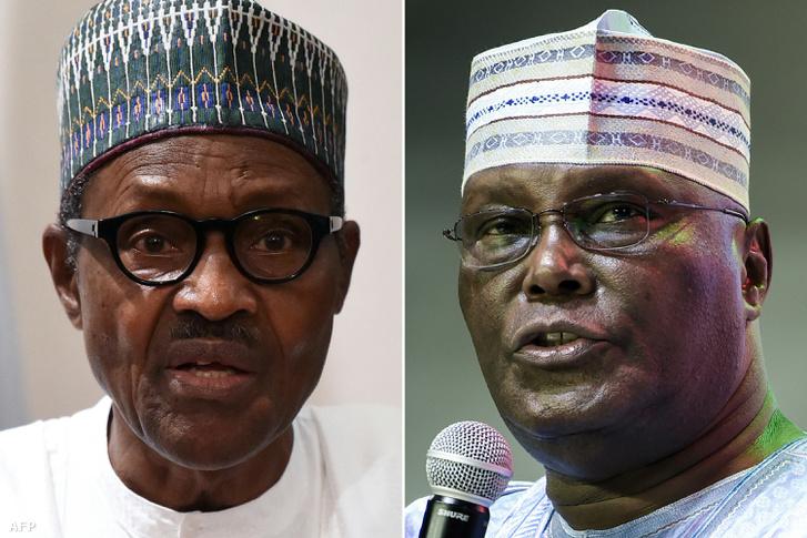 Muhammadu Buhari (balra) és Atiku Abubakar