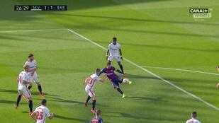 Messi mesterhármasával fordított a Barca Sevillában
