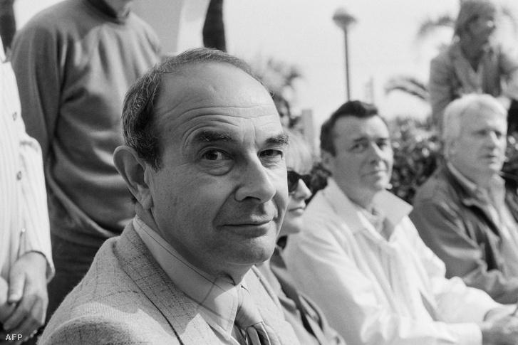 Stanley Donen az 1984-es cannes-i filmfesztivál zsűrijében.