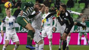 Az Újpest 5, a Fradi 4 gólt vágott