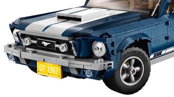 Klasszikus Mustangot dob piacra a Lego