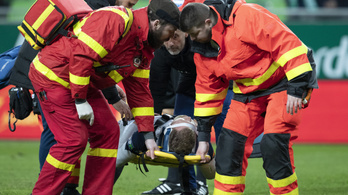 Nem érezte fél arcát a kórházban a Fradi ellen megsérült felcsúti játékos