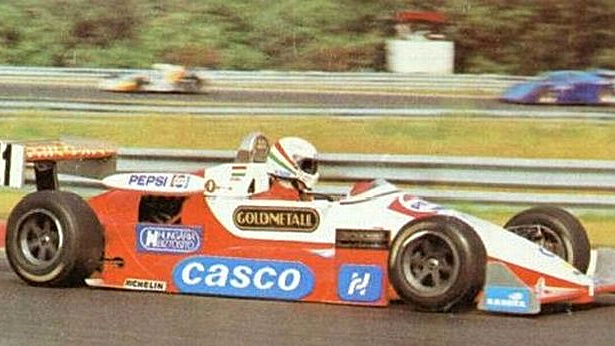 Forma Ford 1.6-osával a Hungaroringen is versenyzett (1987)