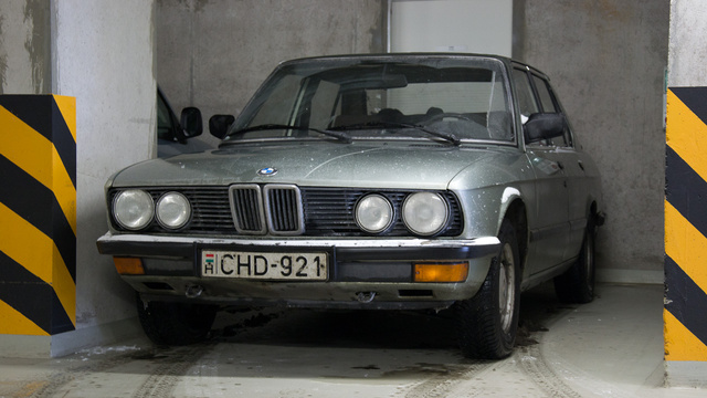 Tibby BMW-je nem fagyott be ma reggel