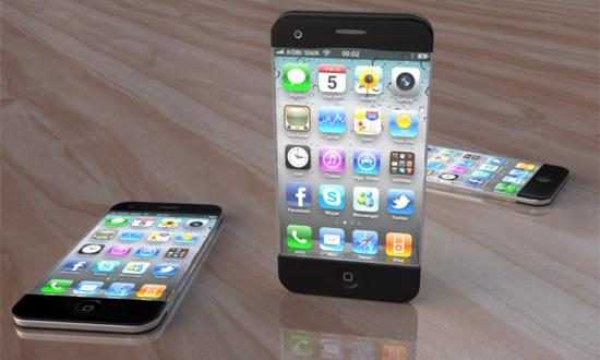Fantáziakép az iPhone 5-ről