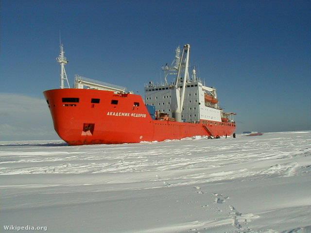Az Akademik Fedorov jégtörő