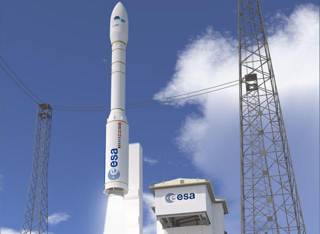 A négyfokozatú (három szilárd és egy folyékony üzemanyagú) rakéta másfél tonna terhet tud majd Föld körüli pályára állítani.