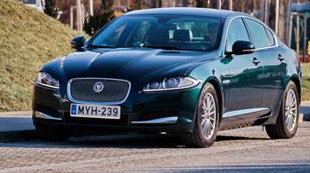 Használtautóteszt: Jaguar XF 2.2d - 2014.