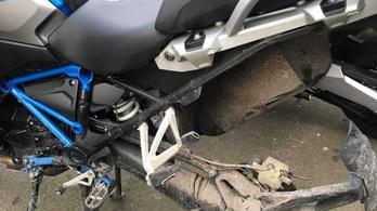 Motorra is kéne kerékőr?