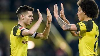 Fontos meccsen nyert a Dortmund