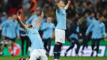 Büntetőkkel dőlt el az angol Ligakupa-döntő