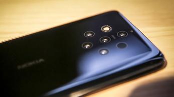 Öt kamera lett a Nokia 9 hátlapján, maradhat?