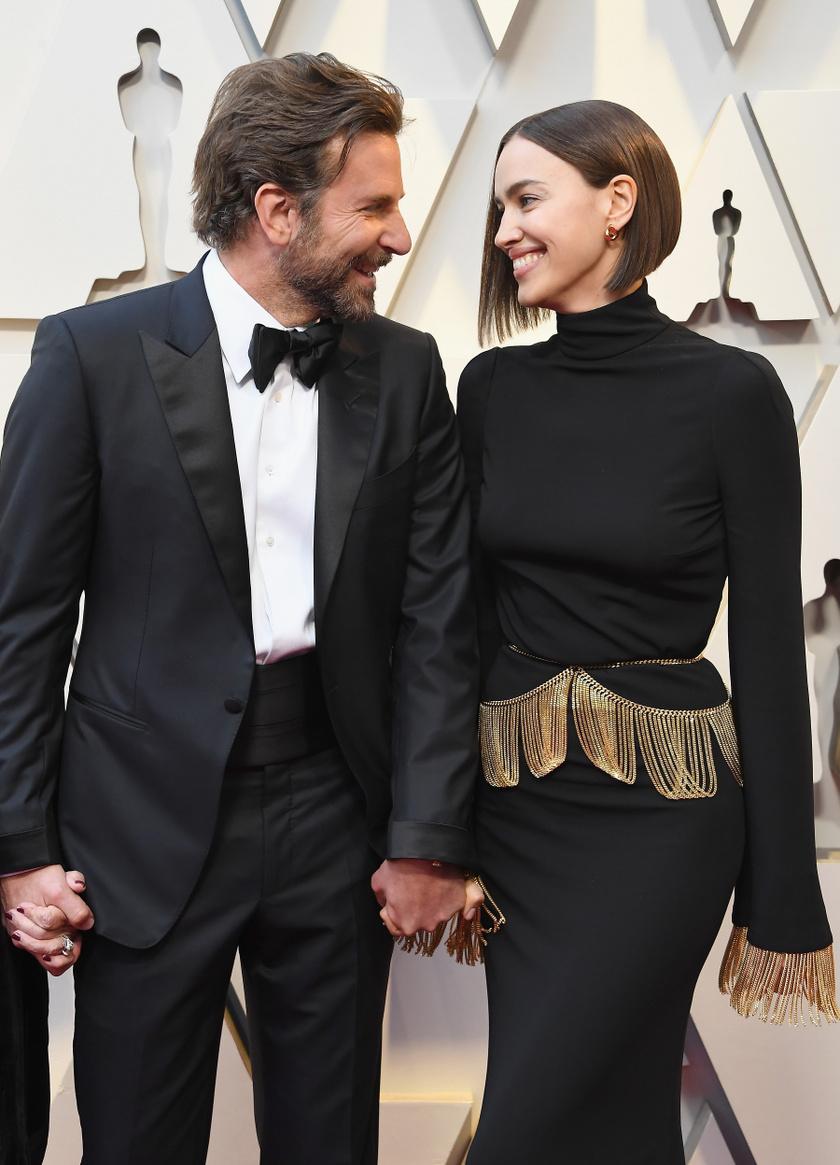 Bradley Cooper és Irina Shayk be sem tudtak telni egymással a gálán.