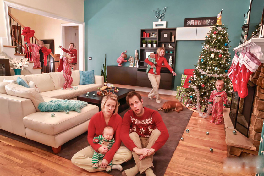 Hogyan készülődsz a karácsonyra, ha gyereked van? Hát nem úgy, mint a filmekben.