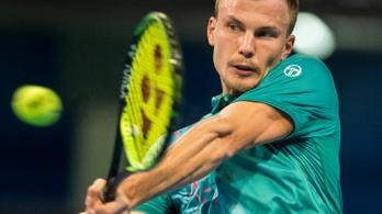 Fucsovics beállította élete legjobbját a tenisz-világranglistán
