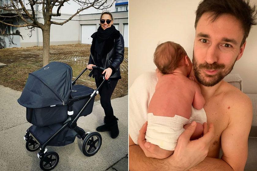 Kiss Ramóna, a sorozat Szentmihályi Zsófija 2019 januárjában adott életet első gyermekének, Noénak. A büszke édesapa Lékai Máté válogatott kézilabdázó.