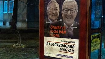 Meghekkelte a kormány plakátjait a Momentum