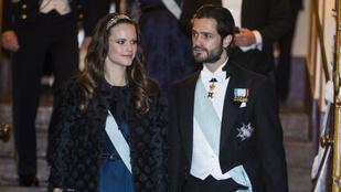 A svéd királyi hercegeknek nem tiltják a tabletezést. Sőt!