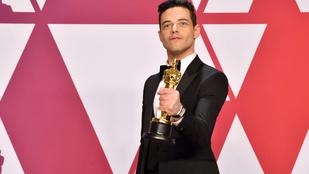 Rami Malekhez orvost kellett hívni, miután átvette az Oscar-díját