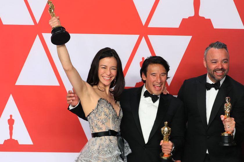A magyar származású Oscar-díjas meseszép estélyit viselt a gálán