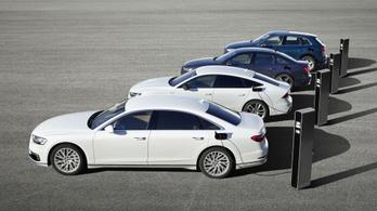 Négy új hibrid modellt mutat be az Audi