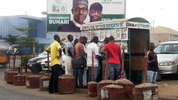 Még tart a szavazatszámlálás, de már most tiltakozik az eredmény ellen a nigériai elnökválasztás egyik esélyese