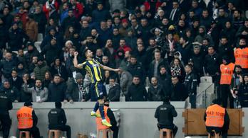 Újabb isztambuli focicsoda: 0-3-ról állt fel a Fener a szünet után