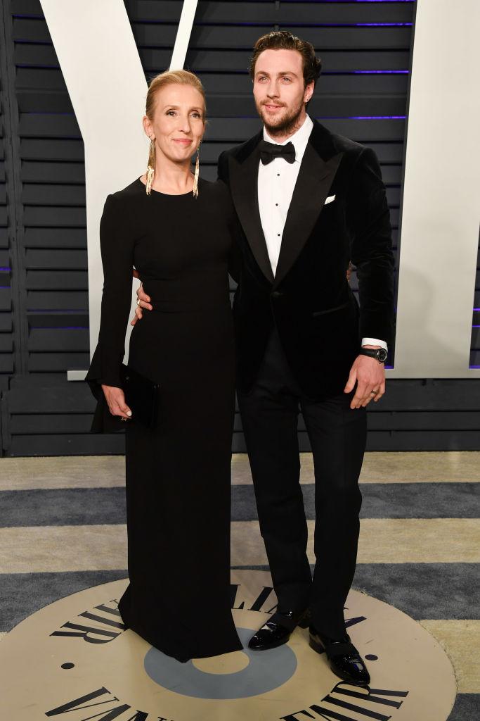 A 28 éves Aaron Johnson és 24 évvel idősebb neje legutóbb az Oscar-gála afterpartyjára érkezett együtt. Teljes a harmónia közöttük.