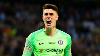 72 millió forintra büntették a Chelsea-kapust