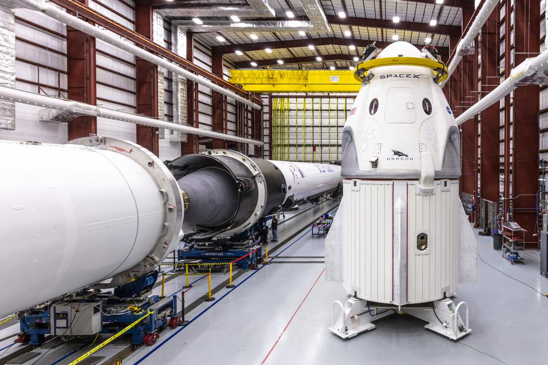 2018. december 18-i fotó a SpaceX űrhajójáról