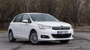 Használtteszt: Citroën C4 1,6 HDi – 2013.
