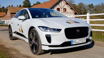 Év Autója, Mortefontaine: Jaguar i-Pace - 2019.