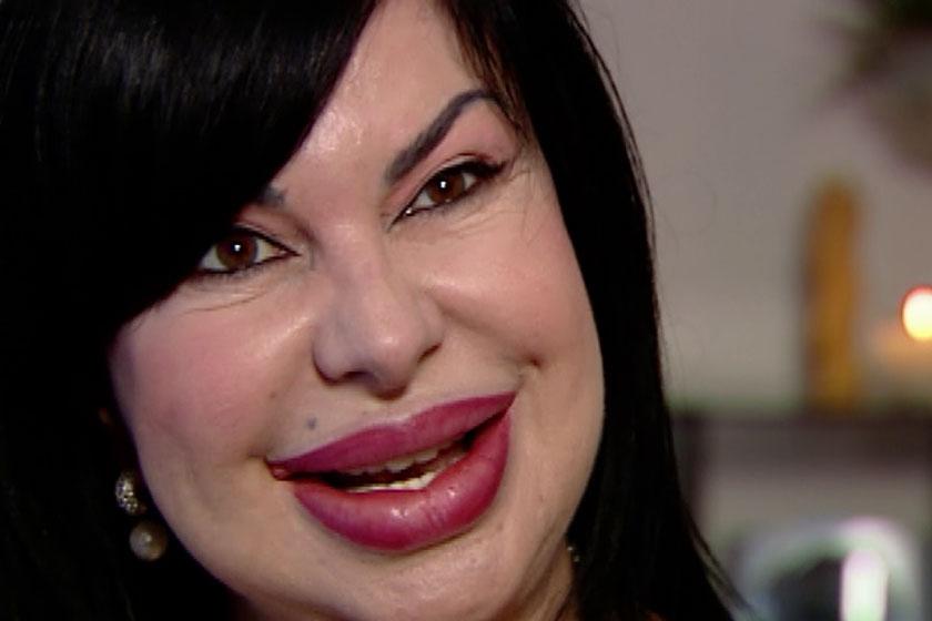 A 61 éves Geronazzo Mária, ahogy az emberek többsége ismeri.