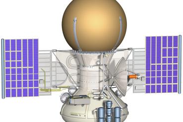 A Venyera-9 rajza