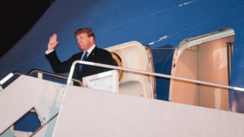 Donald Trump is megérkezett Hanoiba