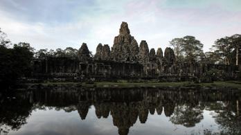 Leléceltek Angkorból a khmer városvezetők