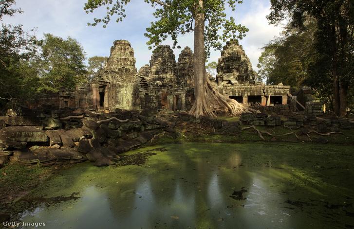 A Bayon-templom (Angkor Thom)