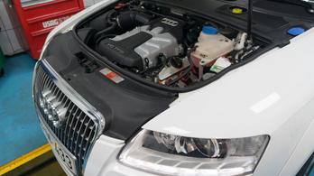 Ilyen Audija csak egy autószerelőnek lehet