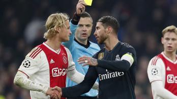 Ramos szándékos sárga lapja miatt eljárást indított az UEFA