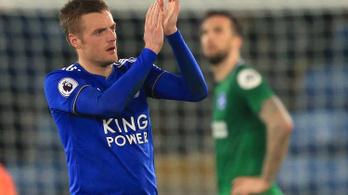 Január elseje óta először nyert bajnokit a Leicester