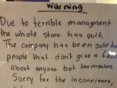 Tökéletes levéllel mondott fel egy amerikai gyorsétterem összes dolgozója