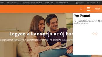 Akadozik a CIB internetes felülete