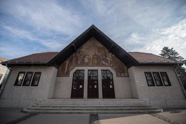 A többek közt színházként is működő Medgyaszay ház Nagykanizsán
