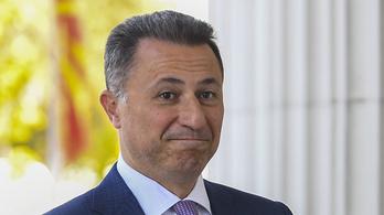 Lezárták a Nikola Gruevszki Budapestre érkezése ügyében indult nyomozást