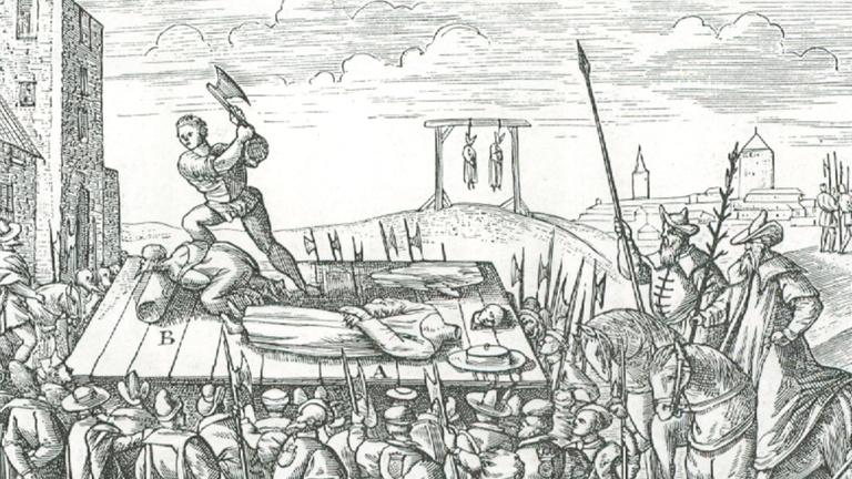 A középkorban hiányszakma volt a hóhér