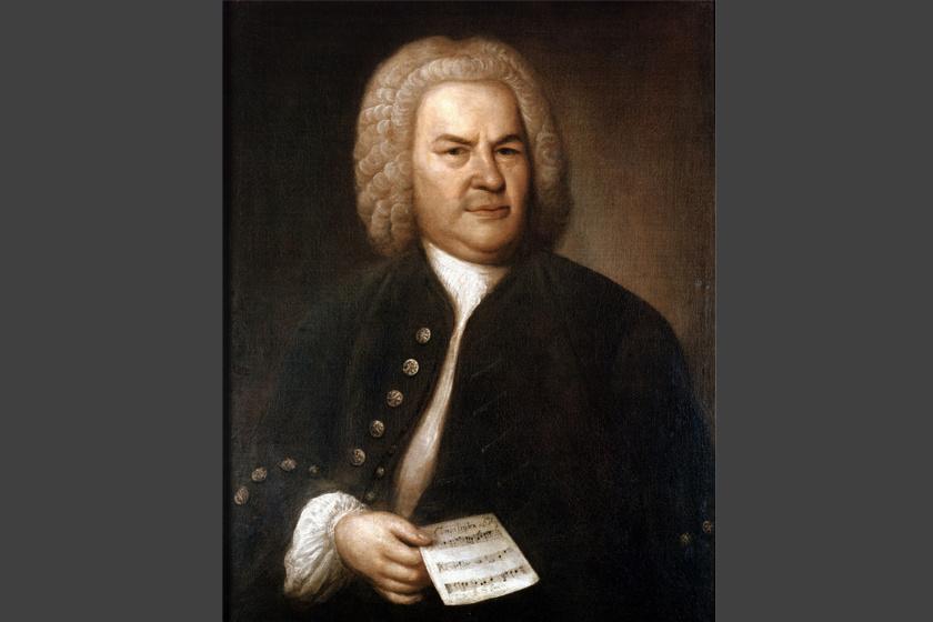 Johann Sebastian Bach (1685-1750), német, barokk zeneszerző saját zenei névjegyét rejtette utolsó, befejezetlen zeneművébe, A fúga művészetébe, a B-A-C-H hangok sorba rendezésével.